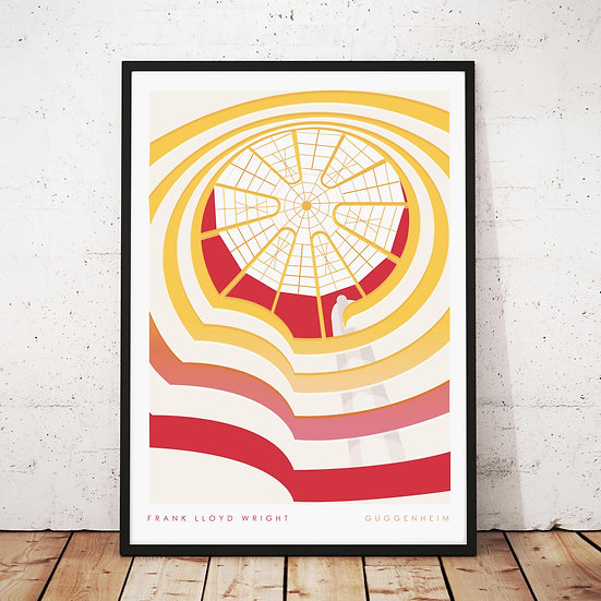 Guggenheim New York Art Print Poster