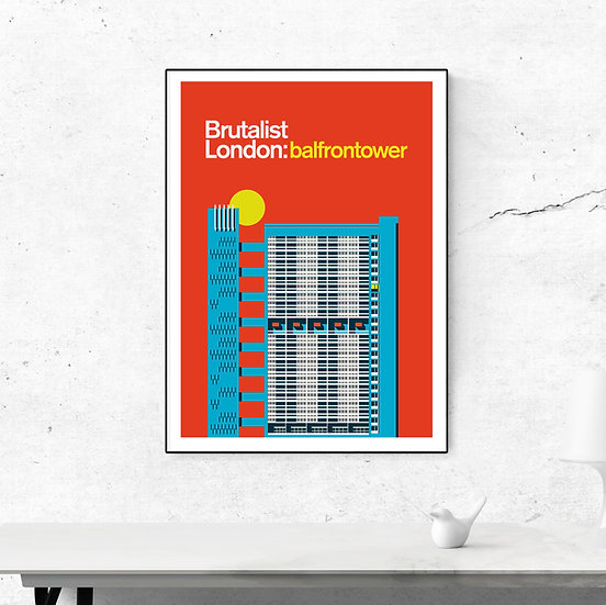 Balfron Tower Art Print