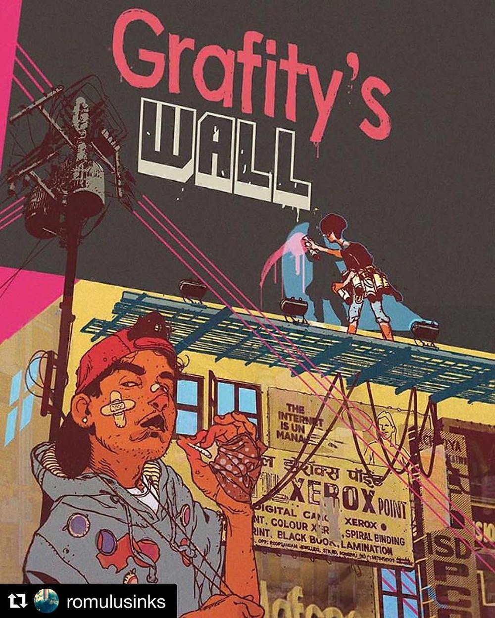 Grafity's Wall Graphic Novel