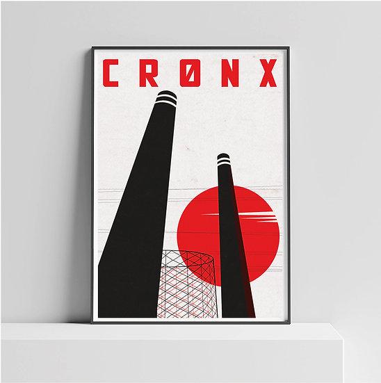 Croydon Cronx London Art Print