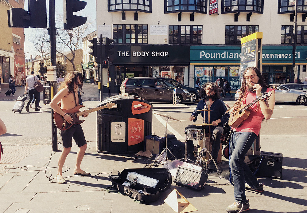 Musicians or Buskers in Brixton
