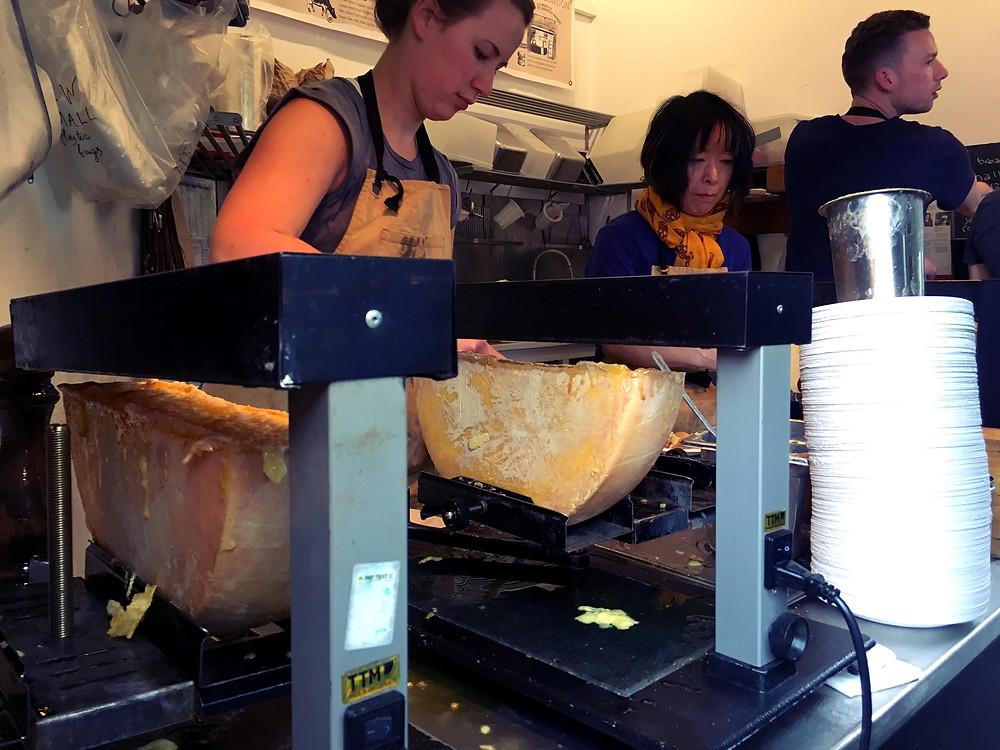 Borough Market London Cheese Raclette