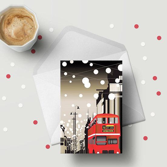 Oxford Street Greeting Card