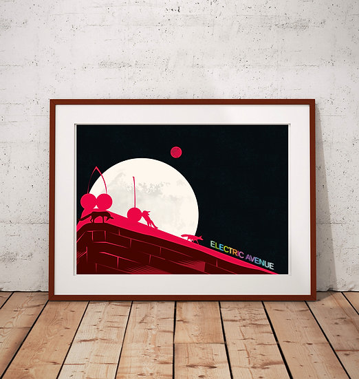 Electric Avenue Brixton Art Print