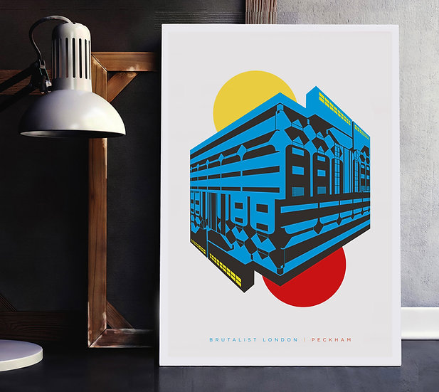 Peckham London Art Print