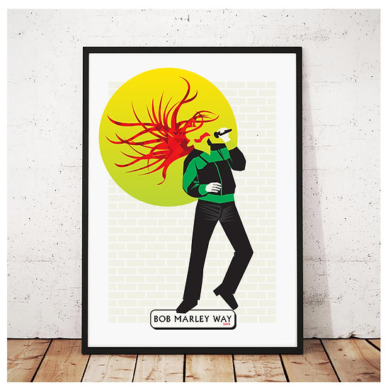 Bob Marley Poster London