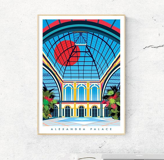Alexandra Palace Art Print Poster