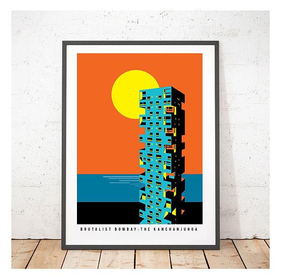 Brutalist Bombay The Kanchanjunga Towers