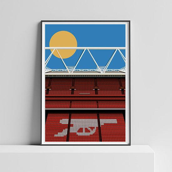 Arsenal Emirates Stadium Art Print