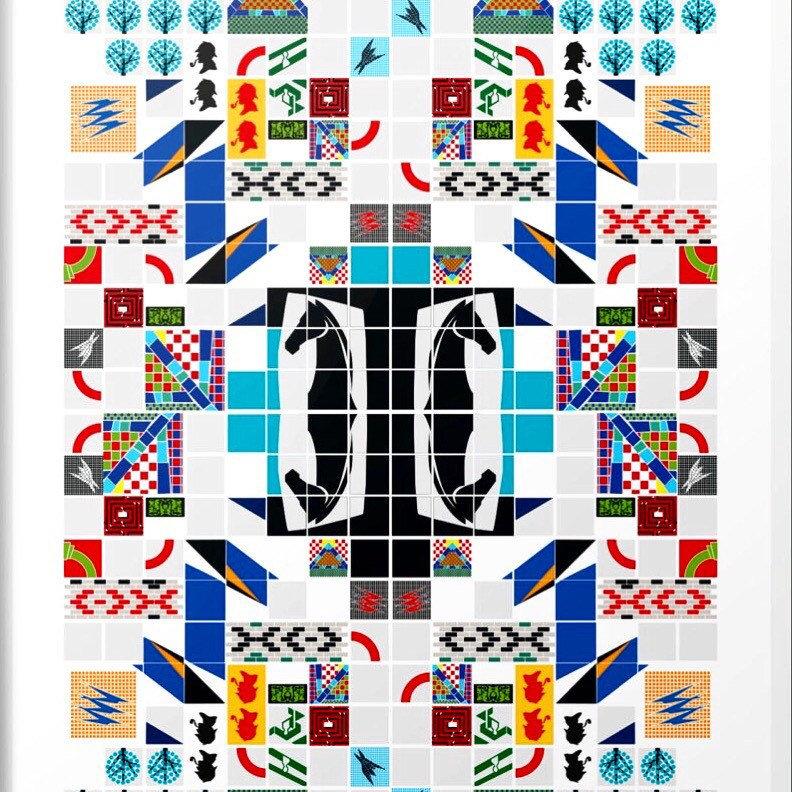 84fc15b8f36 London Underground Art Print