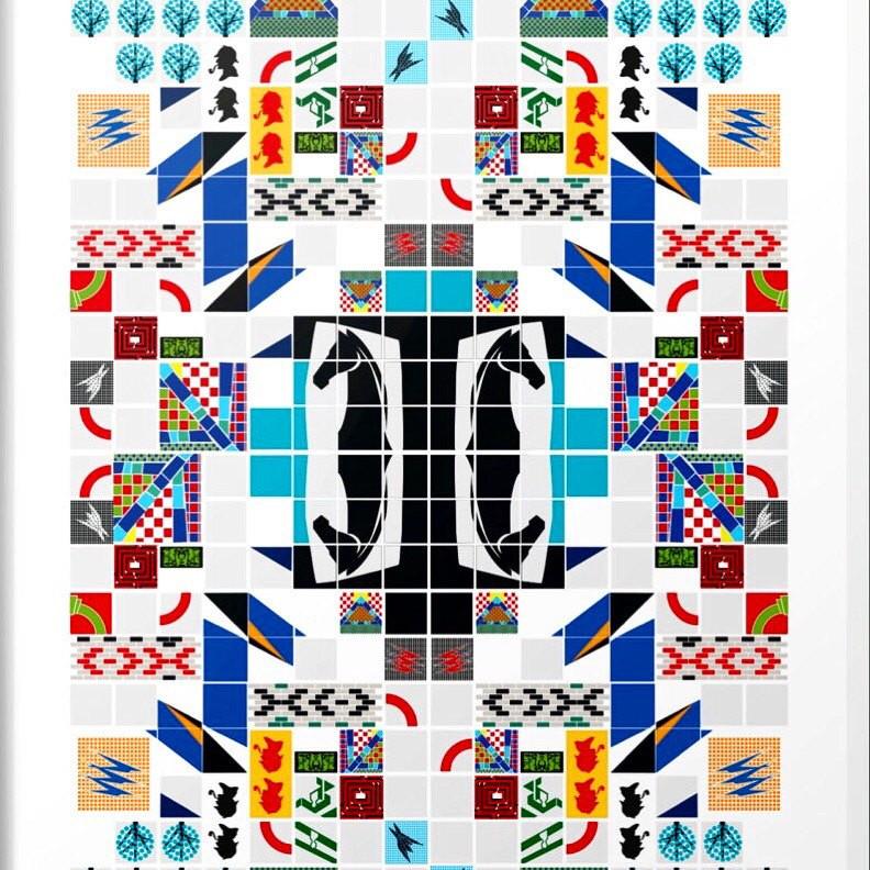 Subway Tiles Art