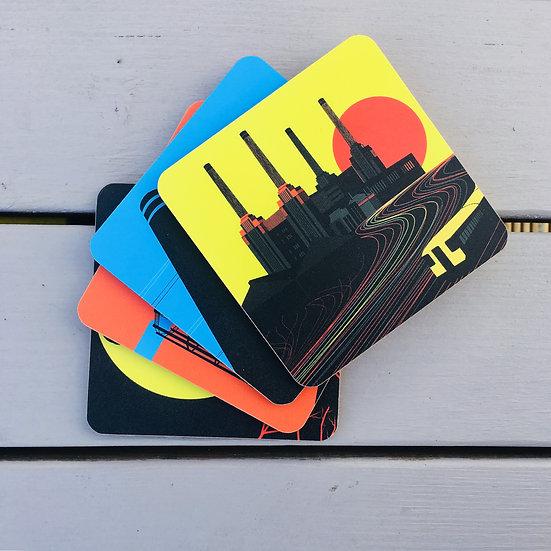 London Coasters Gift Set