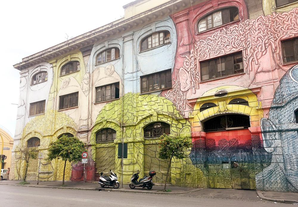 Street Art in Ostiense in Rome