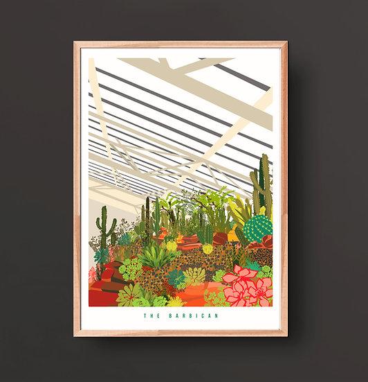 The Barbican Conservatory Art Print