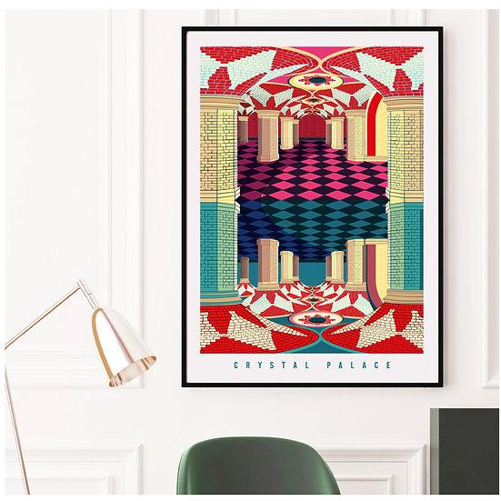 Crystal Palace London Art Print Poster