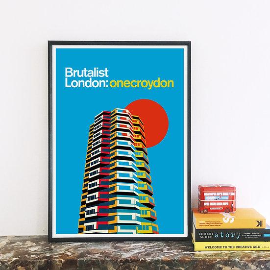 Croydon London Art Print