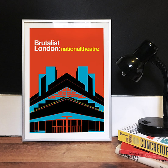 National Theatre Art Print