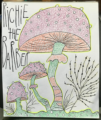 Shrooms Sketch