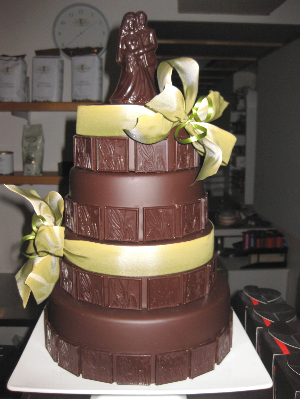 Sculpture en chocolat