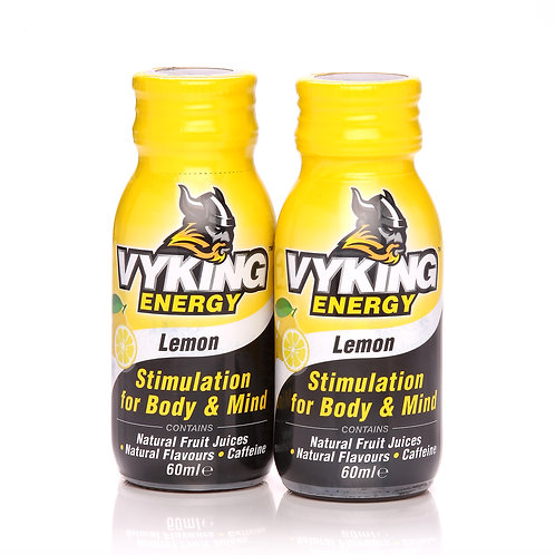 Vyking Energy 2 x 60ml Lemon