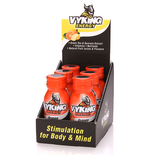 Vyking Energy 6 x 60ml Orange