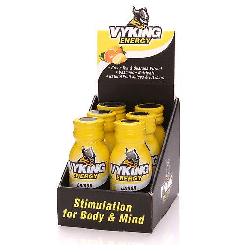 Vyking Energy 6 x 60ml Lemon