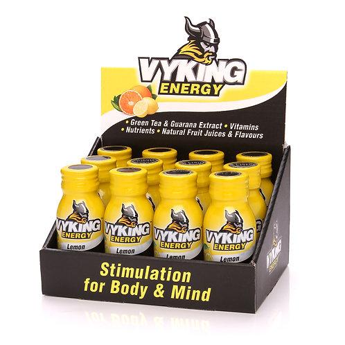 Vyking Energy 12 x 60ml Lemon