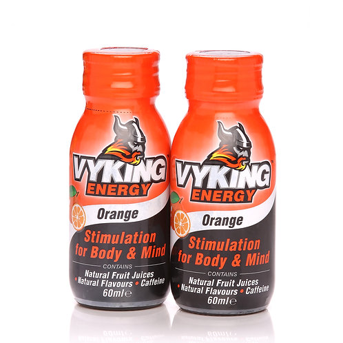 Vyking Energy 2 x 60ml Orange