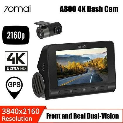 70mai A800 4K Resolution Dash Camera