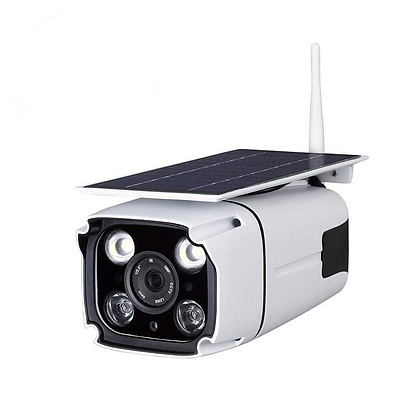 Solar Powered IP Security Camera