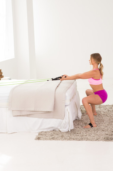 BedGym-sumo-squat-resistance-band-workou