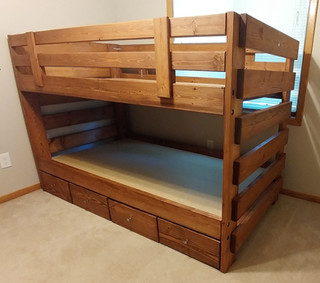 Twin over Twin Bunkbed