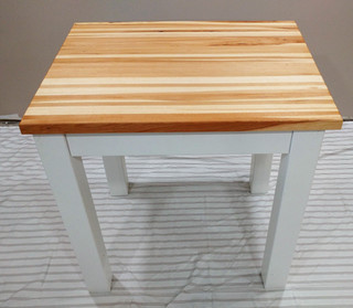 Hickory Butcher Block Table