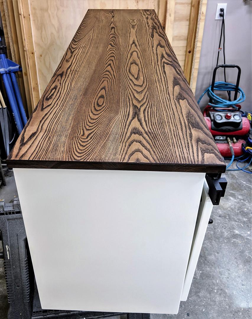 Mini Barn Door TV Stand
