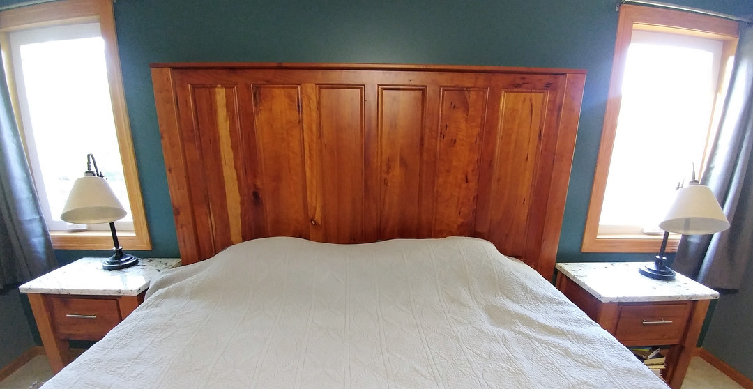 Raised Panel Bed-King