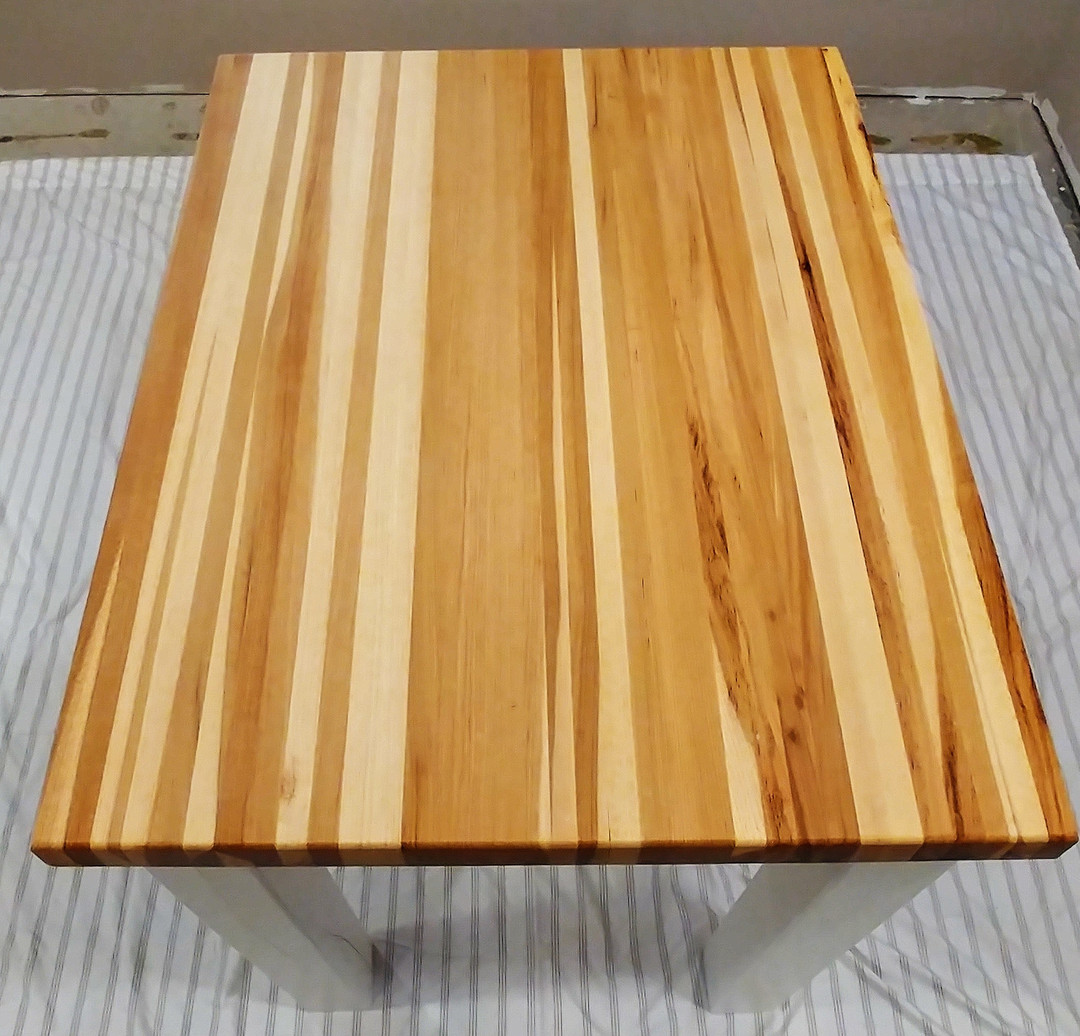 Solid Hickory butcher block
