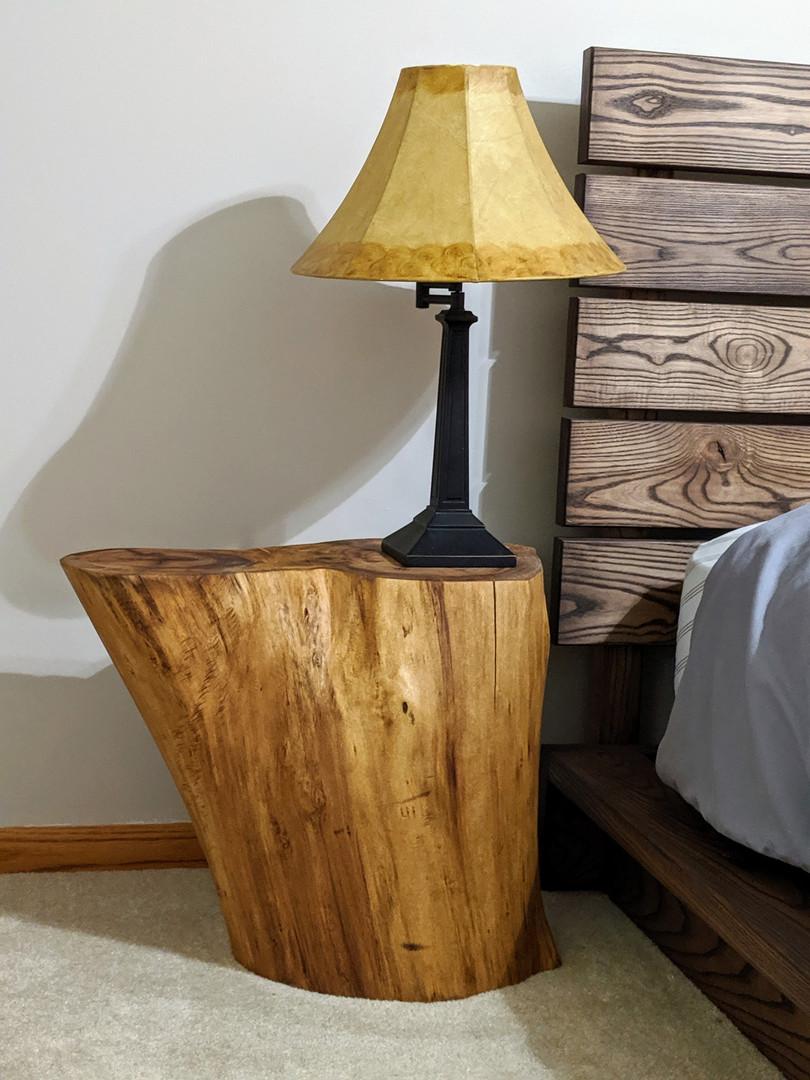 Willow Stump Nightstand