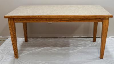 Red Oak Lamiante Top Table
