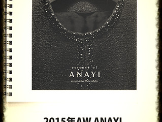 ANAYI様カタログの表紙を飾りました。