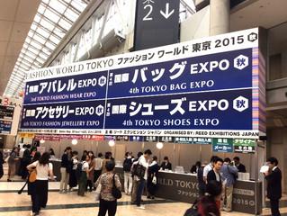 ファッションワールド東京2015に出展しました。