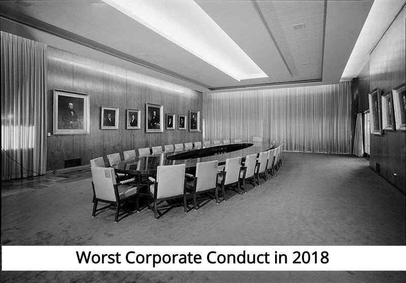 corporate conduct and the laws that should guide corporations