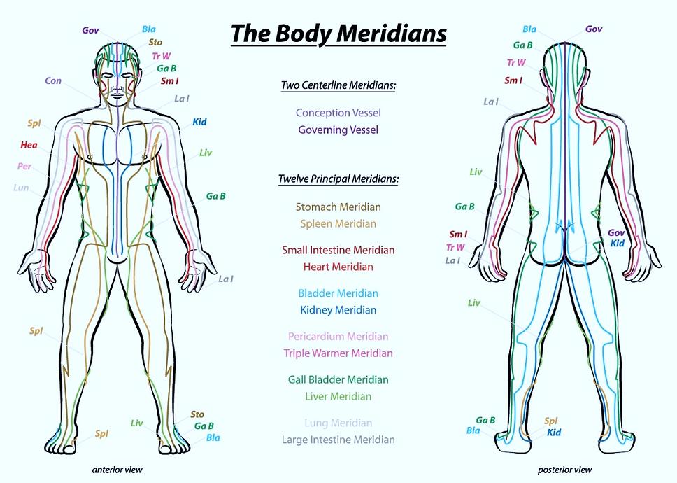 Body Meridians