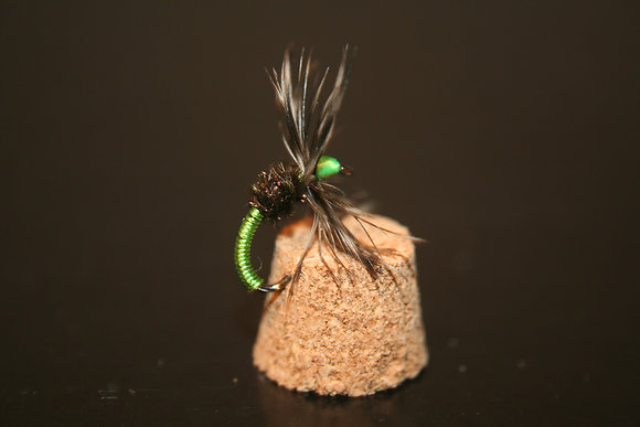 10 - Green Kebari Flies