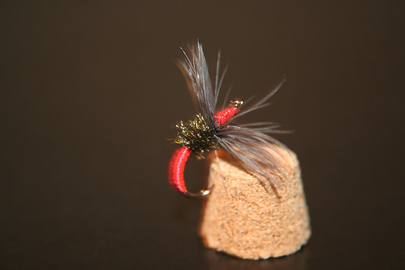 10 - Red Kebari Flies