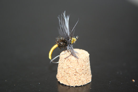 10 - Yellow Kebari Flies