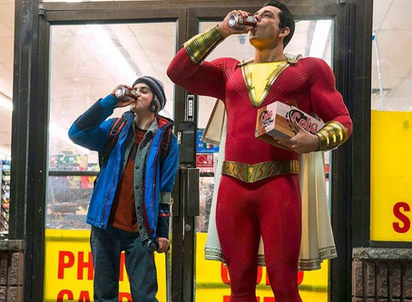 SHAZAM! leads in the box office