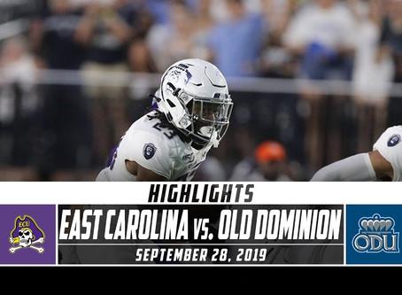 ODU vs ECU Highlights