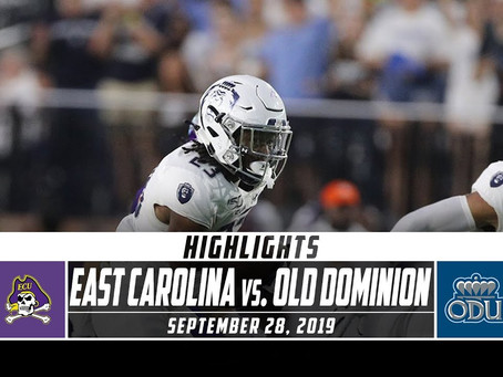 ODU vs ECU Highlights