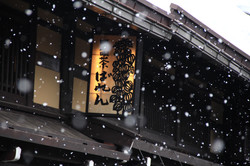 雪降 飛騨高山 snow at HidaTakayama