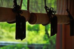 竹簾 bamboo blind